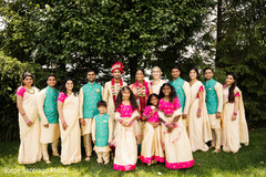 indian wedding party,indian bride and groom,indian wedding photography