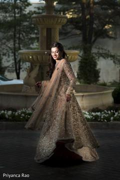 reception fashion,indian wedding reception fashion,indian bride gown