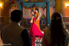 pink sari,garba,choreography