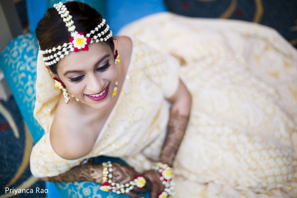 Lovely indian bride's jewelry set in Somerset, NJ Indian Wedding by Priyanca Rao Photography