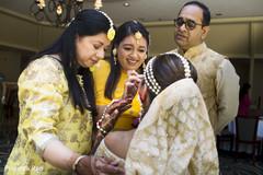 indian bride fashion,yellow sari,indian wedding