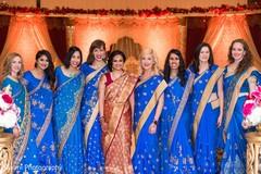 indian bride,saree,indian bridesmaids
