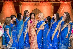 indian bride,saree,indian bridesmaids,indian wedding photography