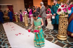 indian wedding ceremony,indian flower girl,indian wedding photography