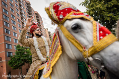 indian wedding fashion,indian groom,baraat,baraat horse