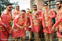 indian wedding fashion,indian groomsmen,baraat