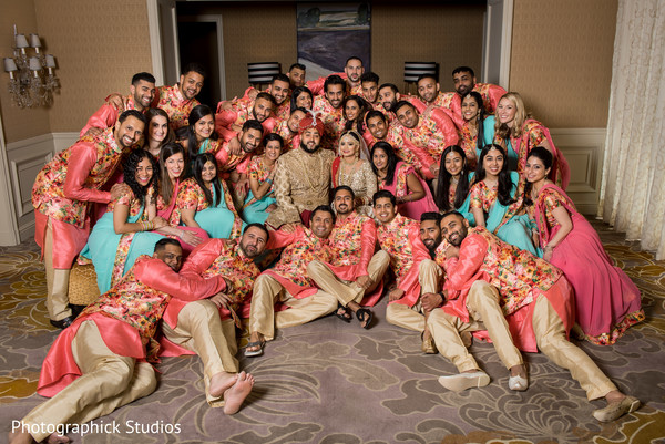 indian wedding photography,indian wedding party