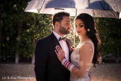 indian couple,indian wedding reception fashion