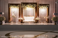 indian wedding stage,indian wedding floral and decor