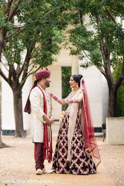 indian wedding fashion,first look,burgundy lengha