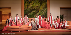 bridal party,indian bridal party,indian groomsmen