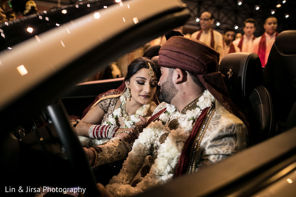 indian newlyweds,indian couple,indian bride fashion