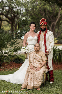 indian bride and groom,indian fusion wedding,indian wedding photography