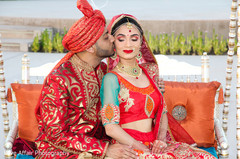 indian wedding photography,indian bride and groom,swing