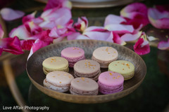 indian wedding reception,cakes and treats,macaroons