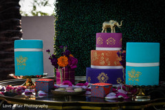 indian wedding reception,cakes and treats,indian wedding cake designs