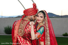 indian wedding photography,bridal bouquet,indian bride and groom