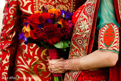 indian wedding photography,bridal bouquet