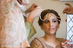 indian bride fashion,getting ready,bridal makeup