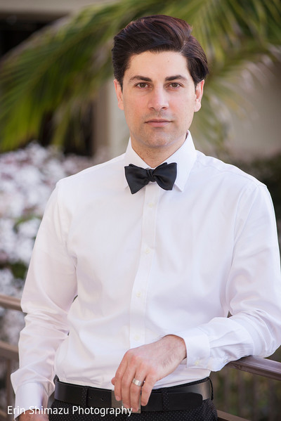 Handsome Muslim groom