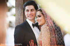 pink dupatta,blue dupatta,indian bride fashion
