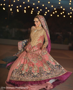 indian bride ceremony fashion,bridal lengha,indian bride fashion