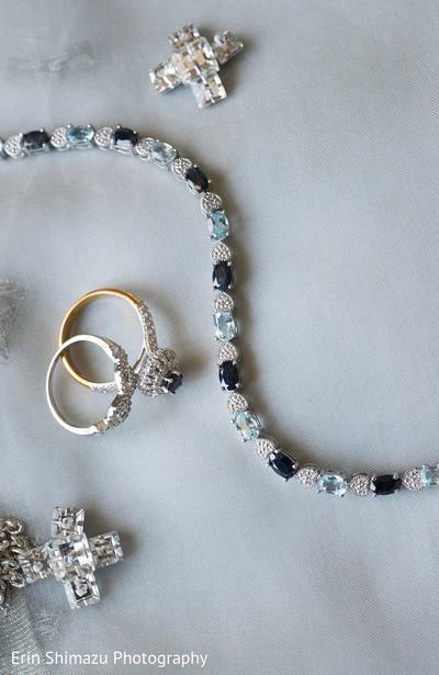 Muslim bride jewelry set in San Pedro, CA Pakistani Wedding by Erin Shimazu Photography