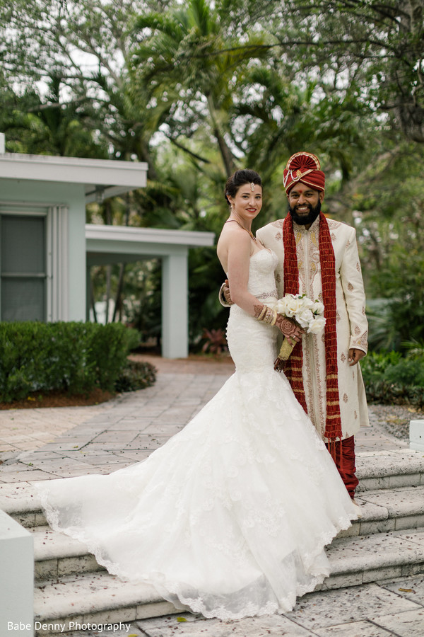 Elegant Indian fusion photography. in Key Largo, FL South Asian Fusion Wedding by Babe Denny Photography