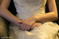 getting ready,indian bride fashion