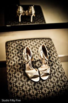 getting ready,indian bride fashion,bridal shoes