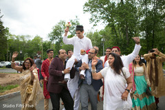 baraat procession,pre- wedding celebrations,parsi groom