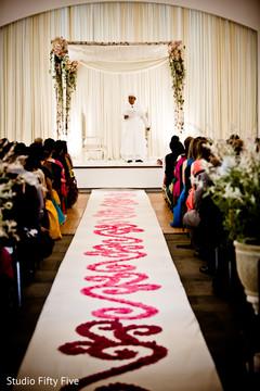 parsi wedding ceremony,floral and decor,mandap