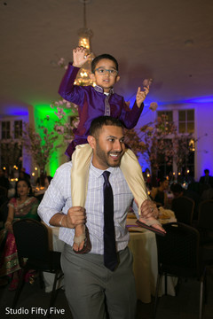indian wedding reception,dj,lightning