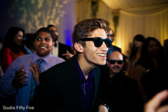 indian wedding reception,dj,uplightning