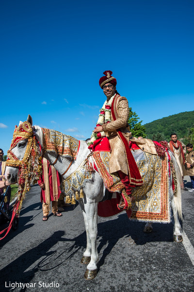 indian groom,baraat horse,indian wedding photography