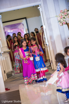 indian wedding ceremony,floral and decor,flower girls