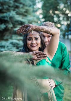 indian bride and groom,pre- wedding celebrations,mehndi art