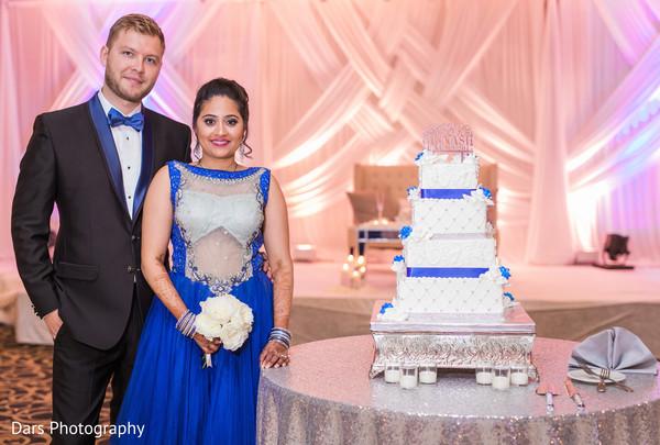 indian groom fashion,indian bride fashion,indian wedding reception,indian wedding cake