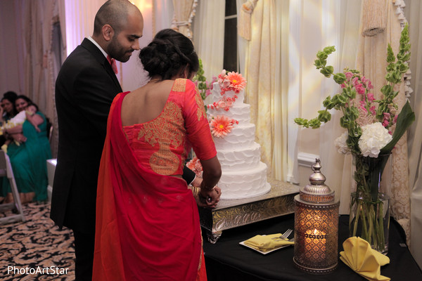 indian fusion wedding,indian bride and groom,indian wedding reception