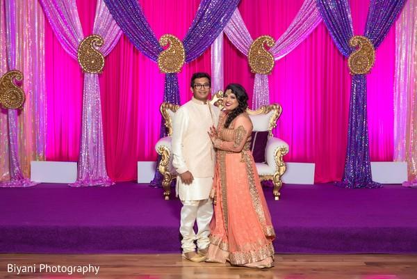 Pre Wedding Celebrations Sangeet Indian Bride And Groom