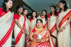 indian bride fashion,indian bridesmaids' fashion,bridal jewelry,indian bridal party