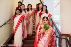 indian bride fashion,indian bridesmaids' fashion,bridal jewelry,indian bridal party