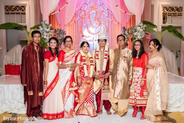 indian wedding ceremony,indian bride and groom portrait