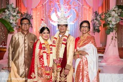 indian wedding ceremony,indian bride and groom portrait
