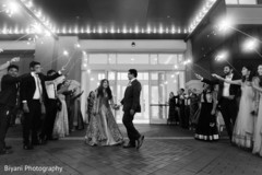 indian wedding reception,fireworks,indian bride and groom,black and white photography