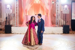 indian bride and groom,indian wedding reception,indian wedding reception photography,dj and entertainment