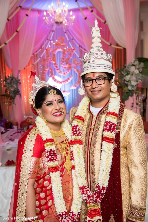 indian wedding ceremony,indian bride and groom portrait,bridal jewelry