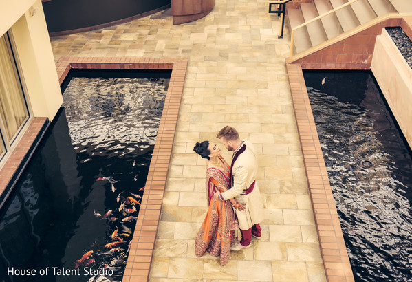Amazingly Heartfelt Indian bride and groom photo shoot.