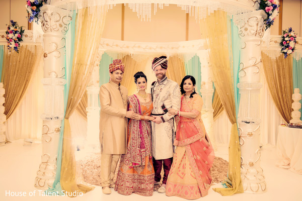 Stunning Indian wedding ceremony photography.