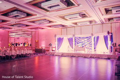 indian wedding reception decor,wedding stage,lightning